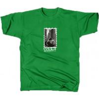 Pánské triko Gasmask - M,L.XL,XXL (červená, černá, kelly green, tm. šedá)