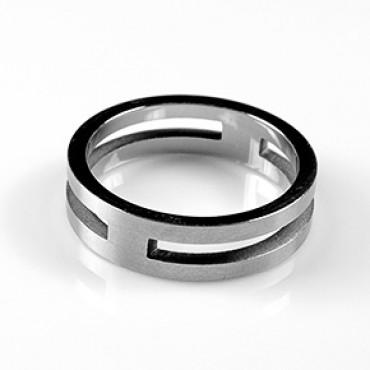 Prsten z chirurgické oceli Open - US 7,5/ US 8/ US 9/ US 9,5