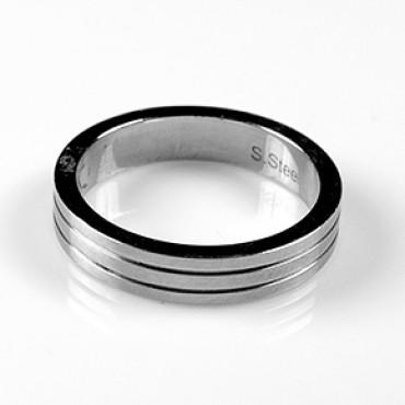 Prsten z chirurgické oceli - US 6,5/ US 7,5