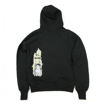 Dámská mikina s kapucí  - XS / Girl Khaki