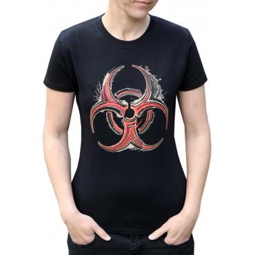 Tekno tričko dámské Biohazard - S