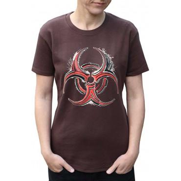 Tekno tričko dámské Biohazard - M