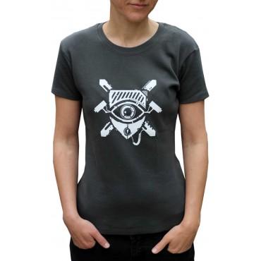 Tekno tričko dámské CCTV - S