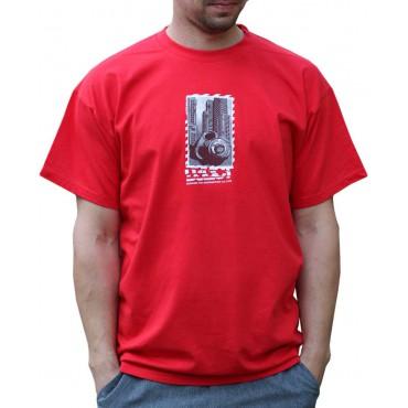 Tekno tričko pánské Gasmask - L