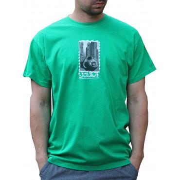Tekno tričko pánské Gasmask - L,XL