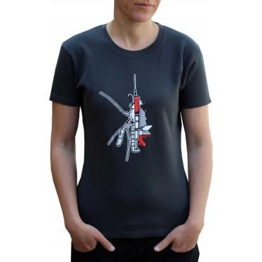Tekno tričko dámské Blood - S