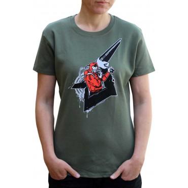 Tekno tričko dámské Molotov - M