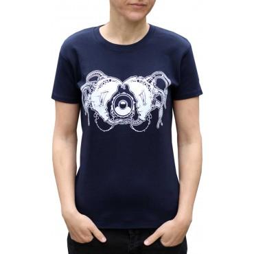 Tekno tričko dámské Moon - S