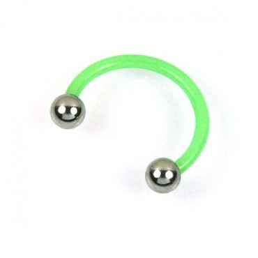 Piercing do ucha / Light Green
