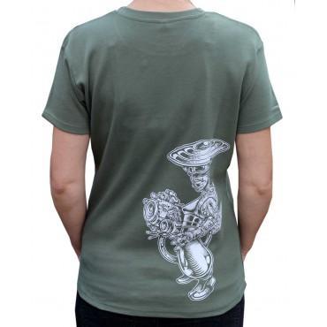Tekno tričko dámské Samurai - M