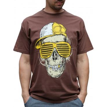 Tričko pánské Skull - L