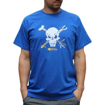 Tekno tričko pánské Skull - L,XL