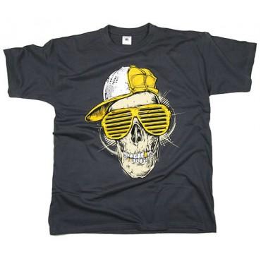 Pánské triko Skull - L,XL