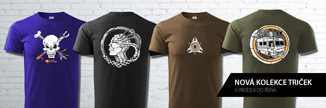 nové trička